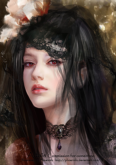 Beautiful Digital Illustrations by Phoenix Lu