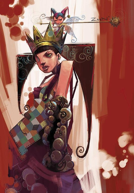 Exceptional Concept Art by Zeen JingHui