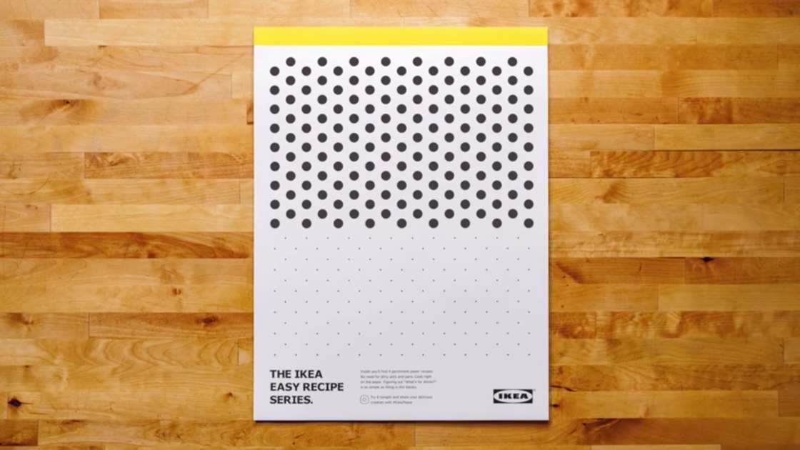 IKEA invente les posters a cuisiner !