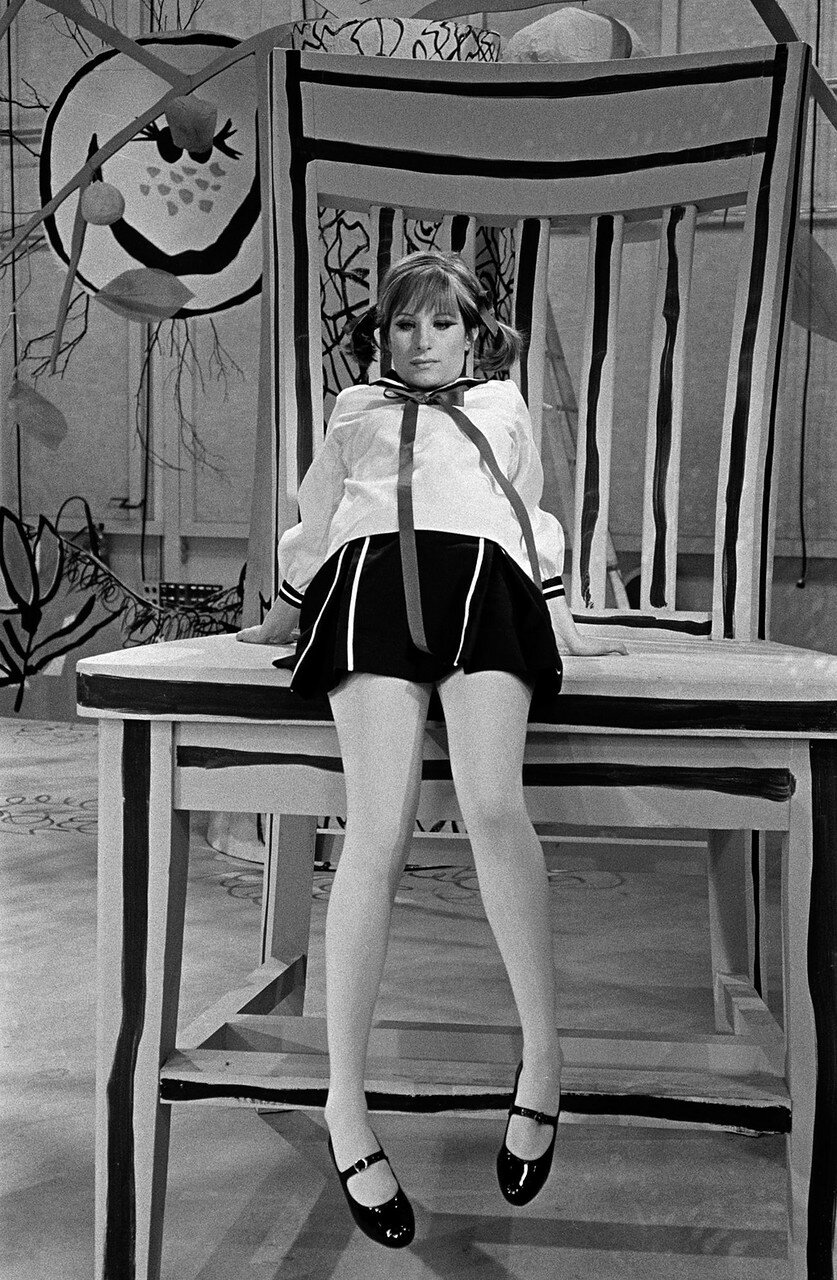 Streisand On Set Of My Name Is Barbra