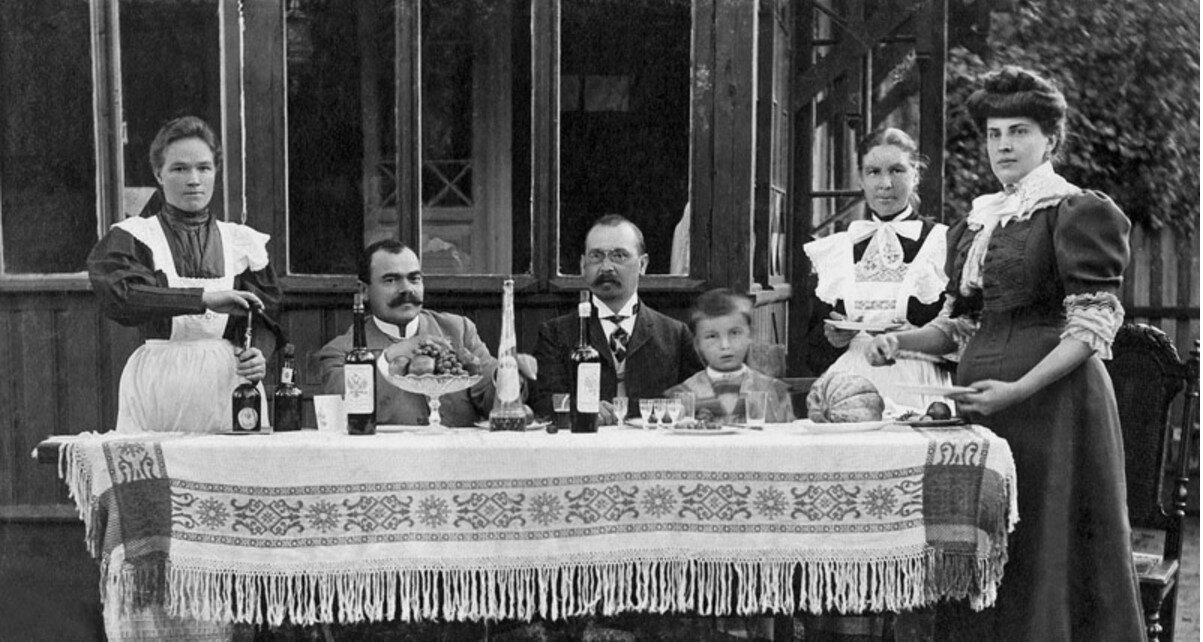 1900-е.Дачники