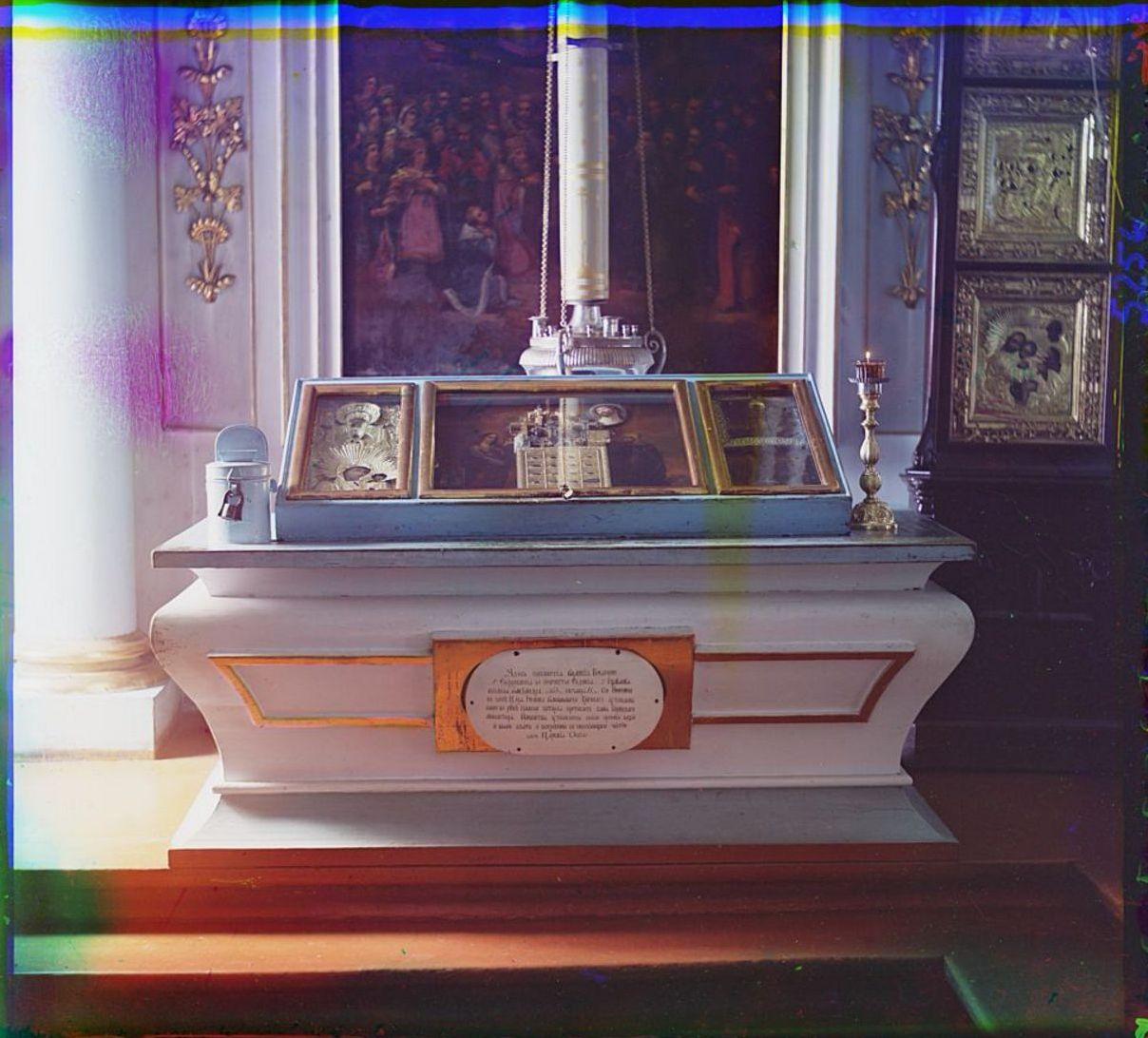 Горицкий монастырь. Место, где покоятся мощи Великих Княгинь Евфросинии и Иулиании