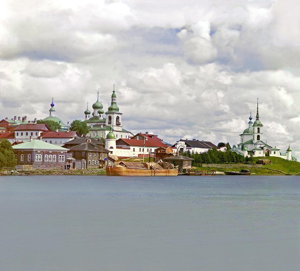 Горицкий монастырь. Общий вид