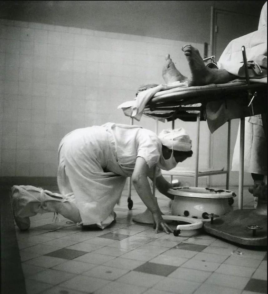 1946. Больница Биша. Париж