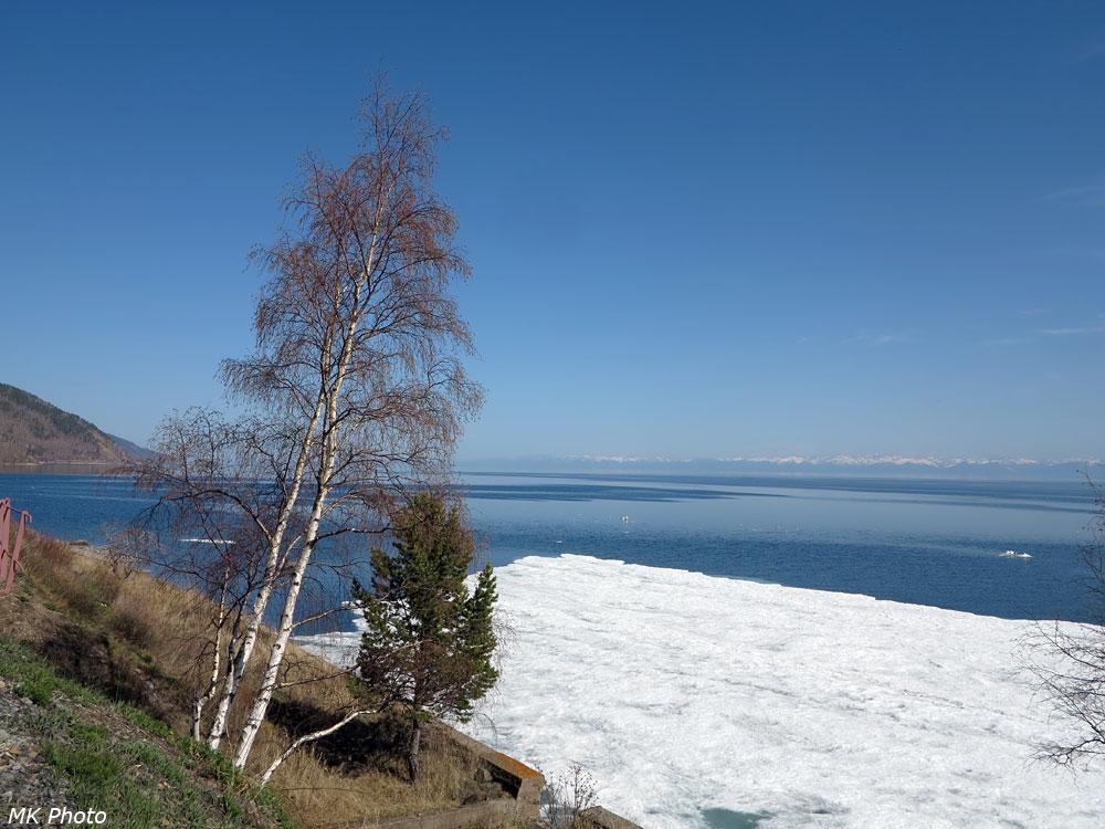 Остатки льда