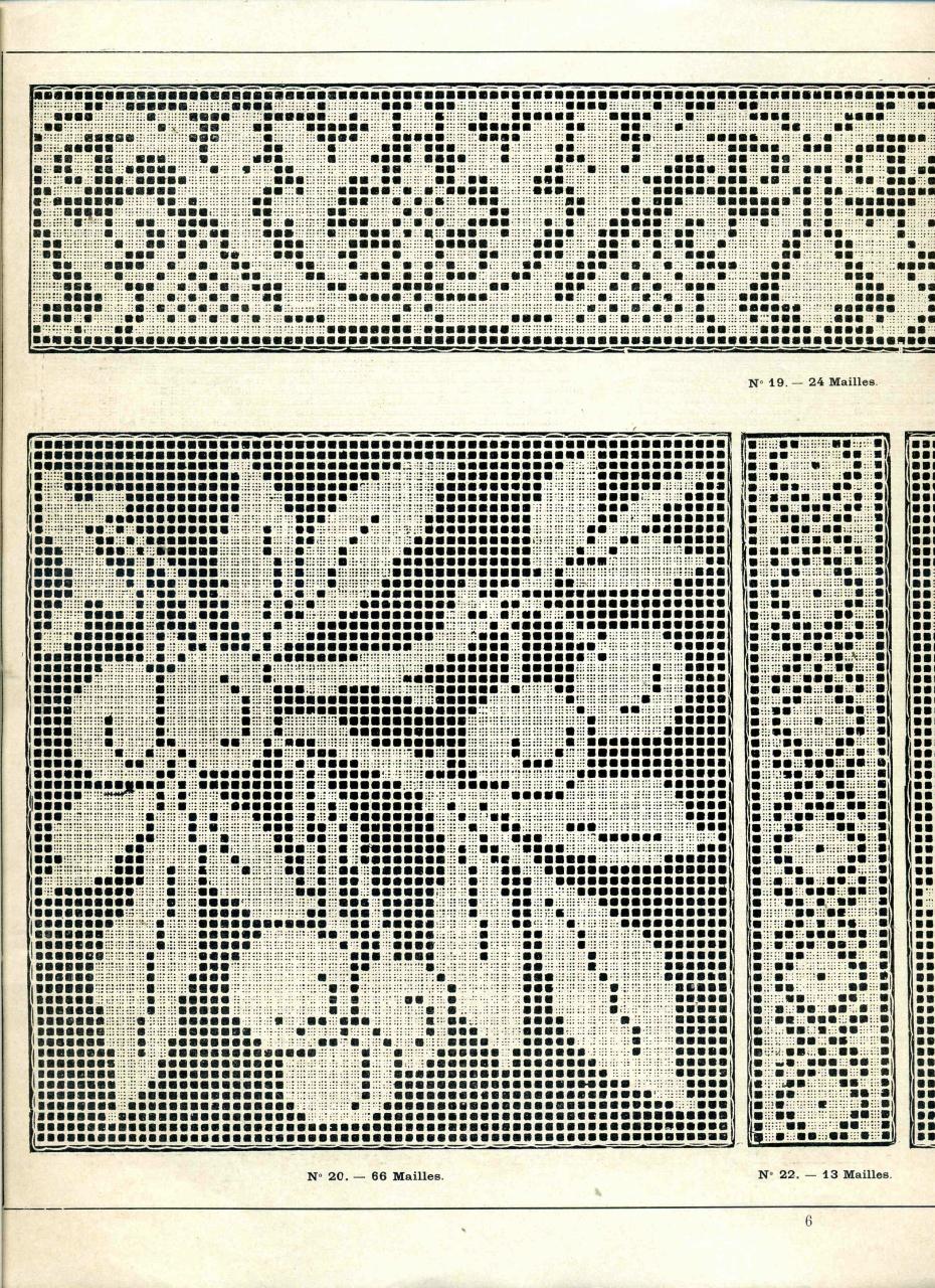 Схемы филейного вязание крючком 31