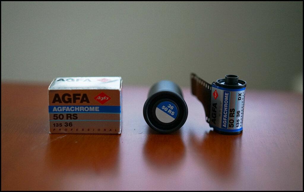 AgfaChrome 50 RS
