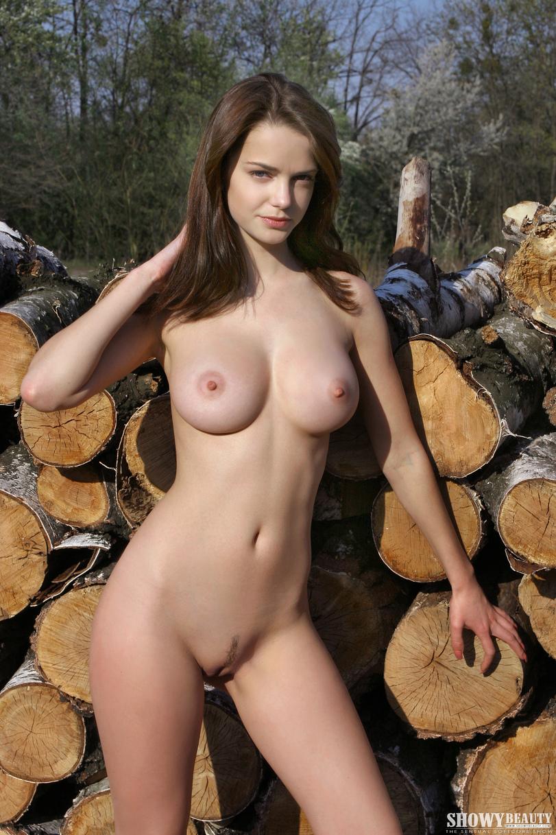 Хохлушку в лесу 17 фотография