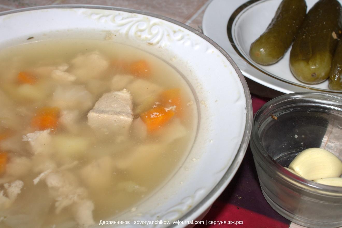 Готовим суп в два подхода