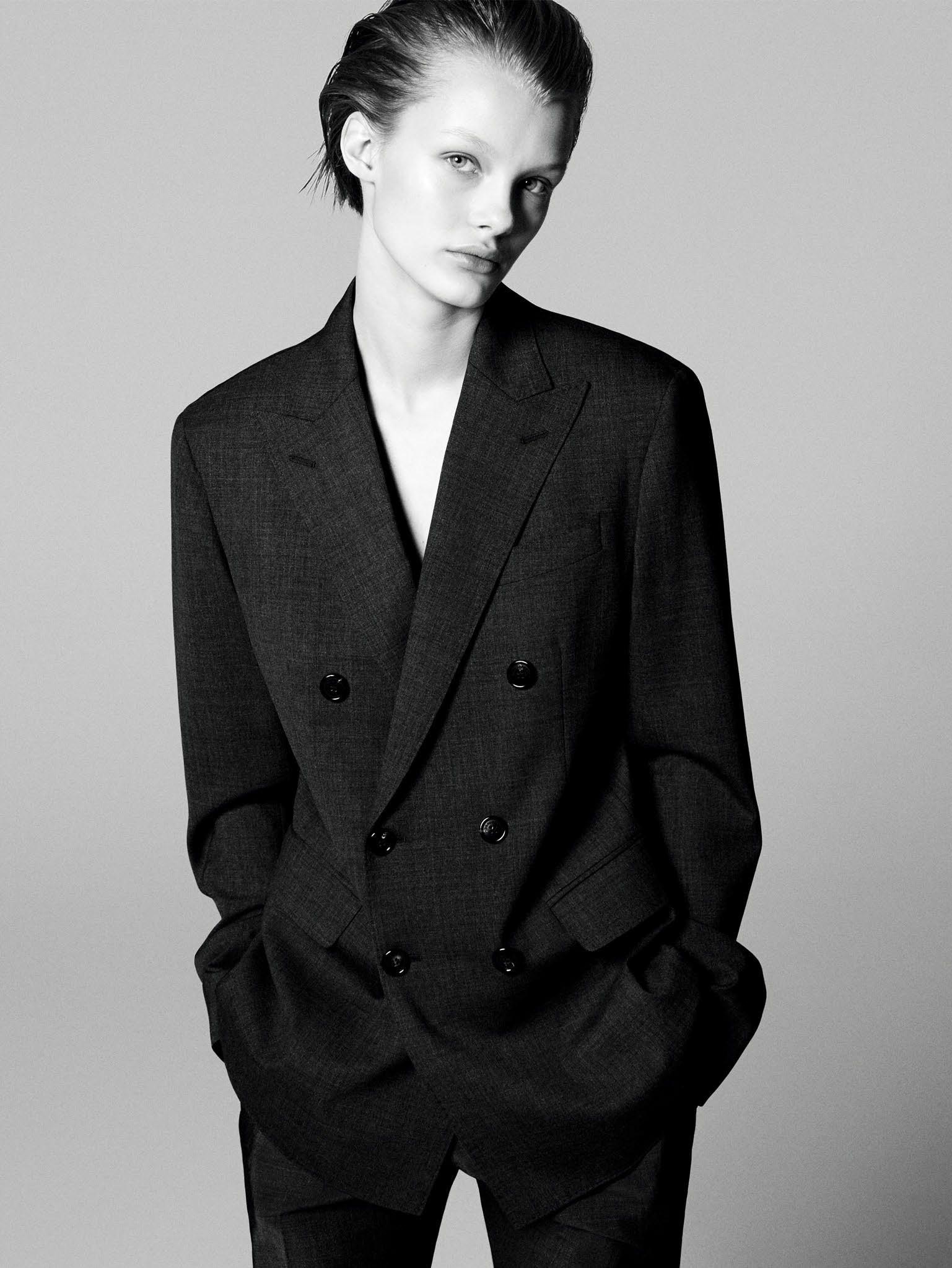 Кристина Грикайте в фотосъёмке Дэниела Джексона для китайского Vogue, май 2017 3