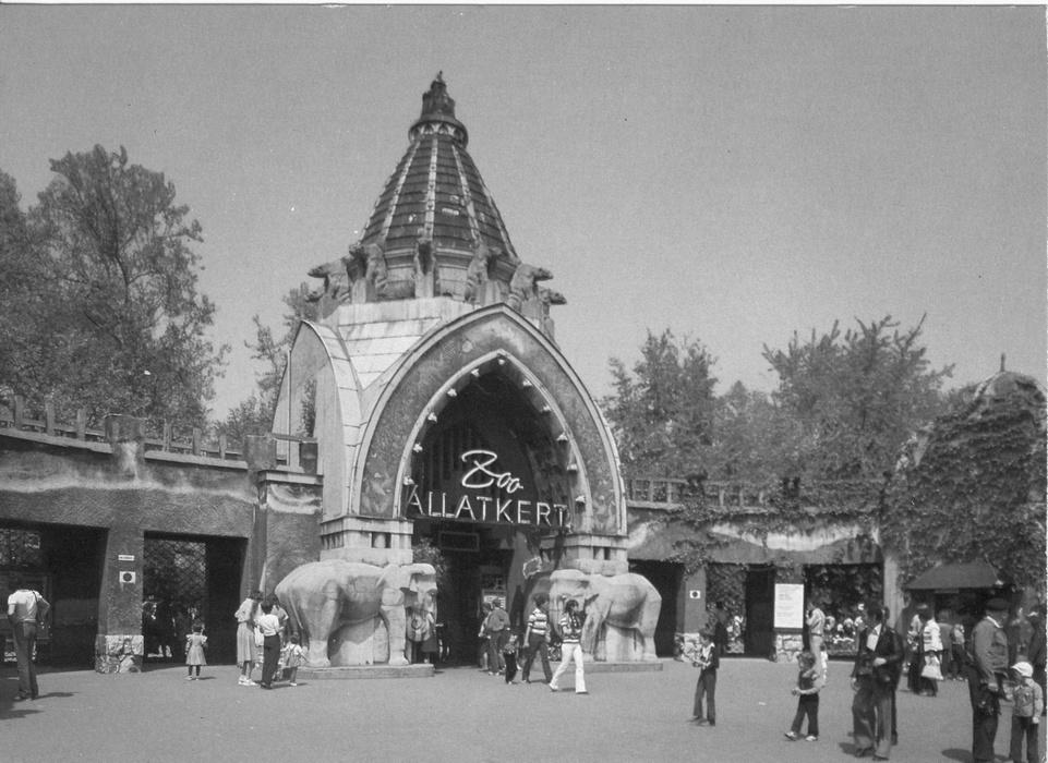 Зоопарк разбомбили в годы Второй Мировой войны