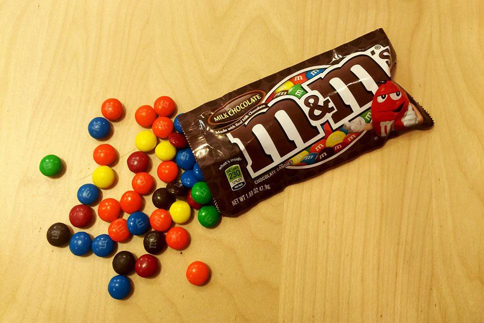 Фабрика в Хакеттстауне производит M&M's с молочным шоколадом, M&M's Mini, M&M's с арахисом, а также