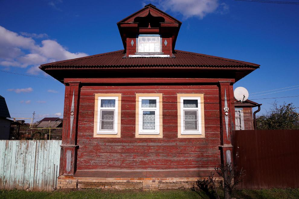 11. Ну очень красивый балкончик, Вологодская область, Россия, 15 июля 2016. (Фото Maxim Shemeto