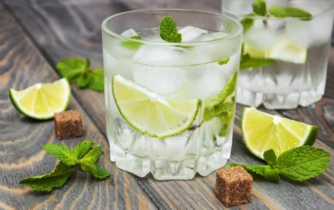Ингредиенты: тростниковый сахар повкусу 4лайма имбирь повкусу мята 1л газированной воды 1/2 стак