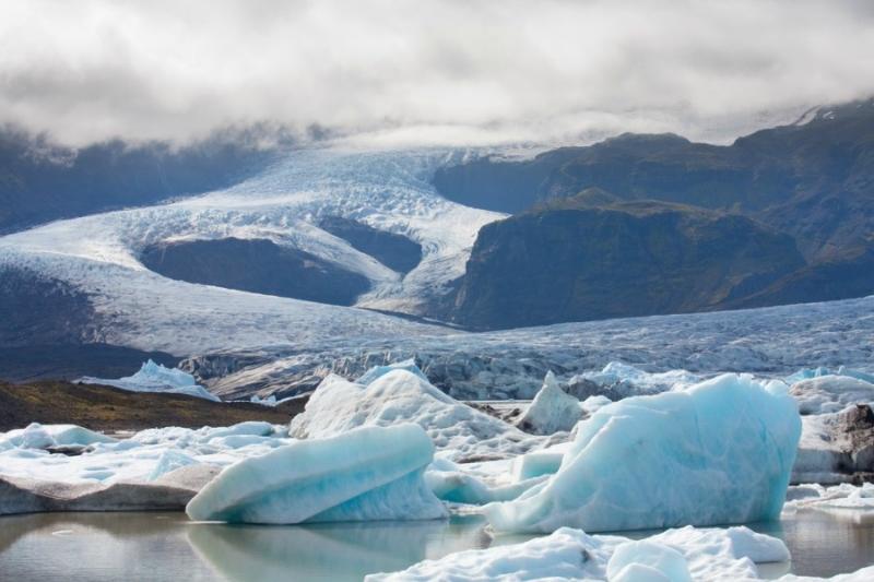Самые красивые крупнейшие ледники мира: Ватнайекюдль, Исландия
