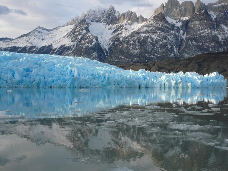 Самые красивые крупнейшие ледники мира: Грей, Чили