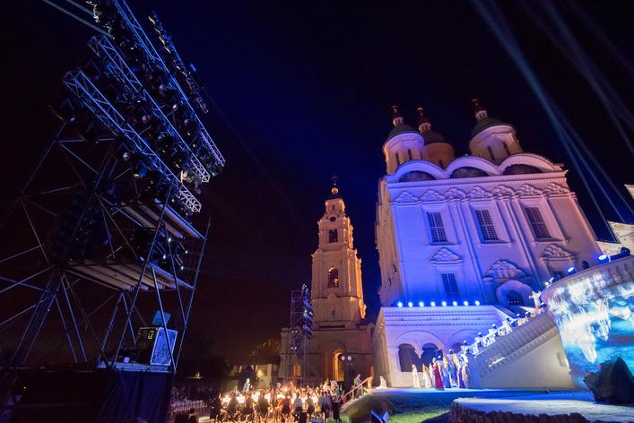 Оперу о«Русской Атлантиде» представили встенах Астраханского кремля