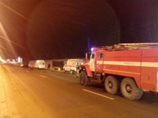 ВДТП попал микроавтобус, двигавшийся из столицы вТулу, есть пострадавшие