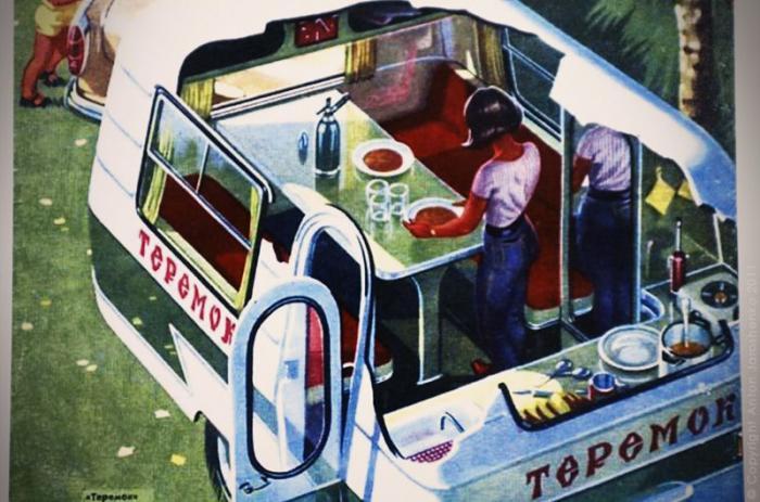 Самодельные советские машины