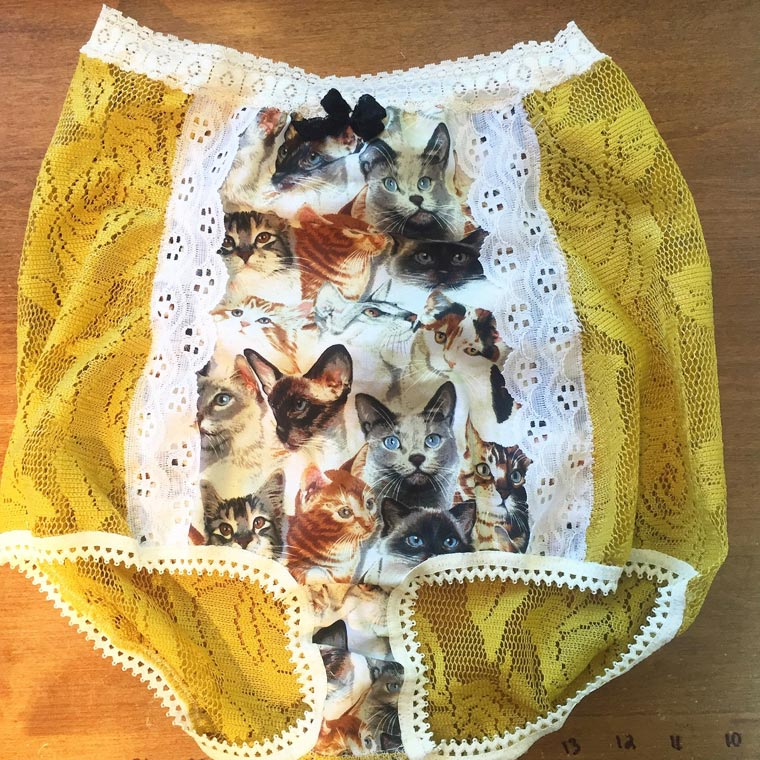 Some (sexy?) granny panties decorated with Ryan Gosling or Shia LaBeouf