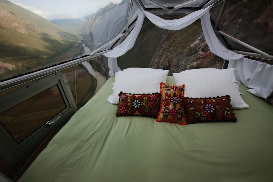 Sleep Amongst the Condors 400 Feet Above a Sacred Valley in Peru