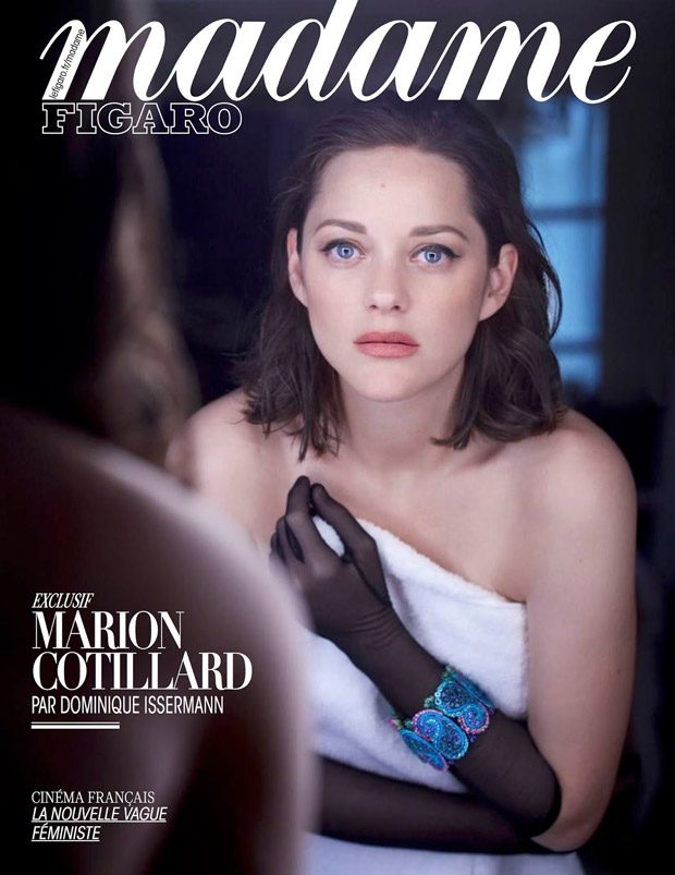 Madame Figaro enlists French actress Marion Cotillard to star in the cover story of their latest edi