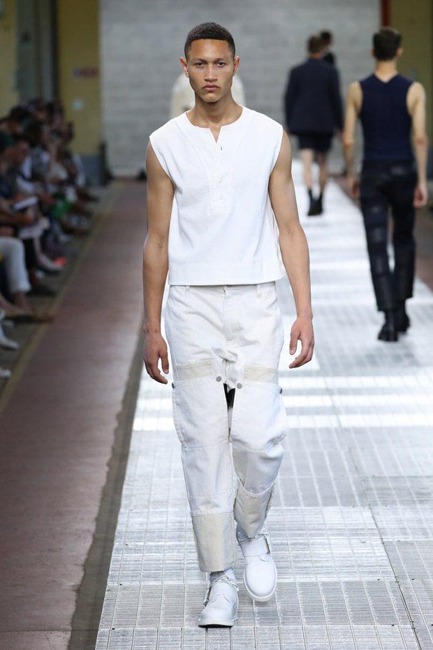 #MFW: Dirk Bikkembergs Spring Summer 2018 Menswear Collection