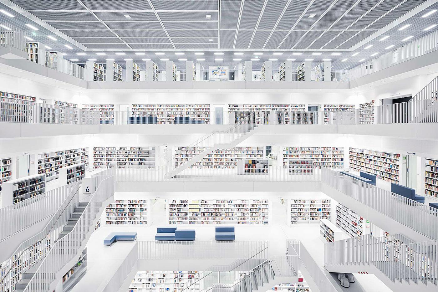 Stadtbibliothek, Stuttgart, 2011