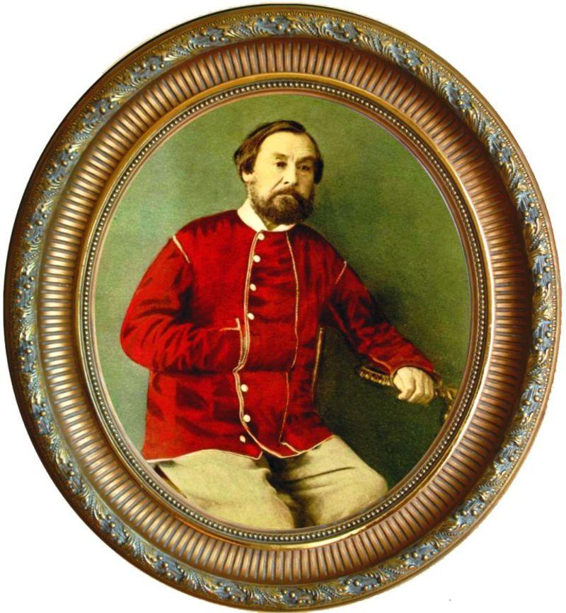 Николай алексеевич некрасов родился на украине, 28 ноября ( 10 декабря) 1821 года, в немирове