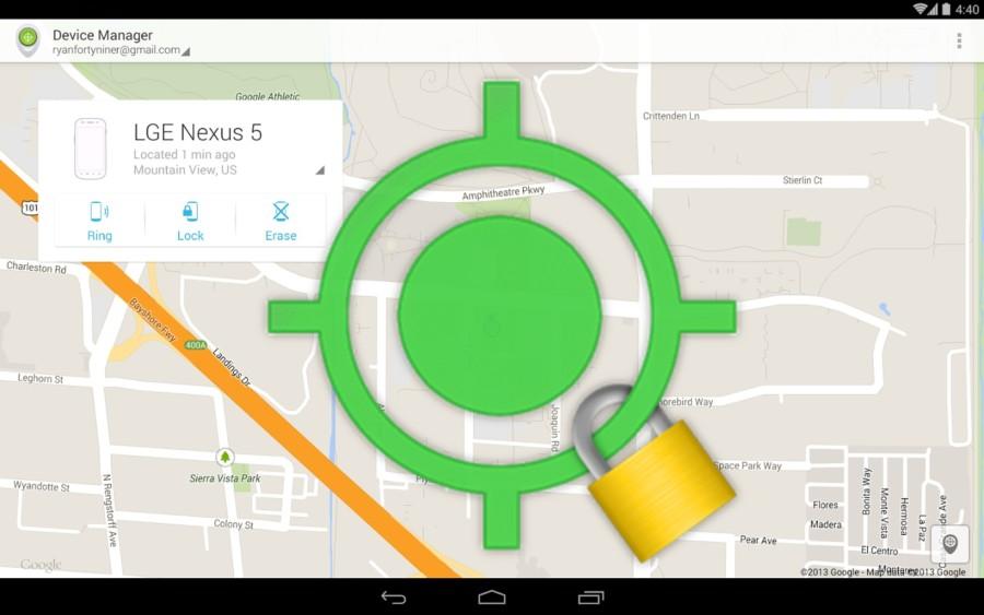 Удаленное управление Android сохраняет все данные при потере телефона