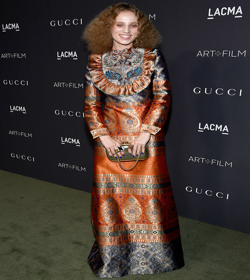 Petra Collins - LACMA Art + Film Gala 2016