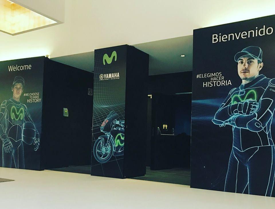 Презентация команды Yamaha Movistar 2017 (тизер)