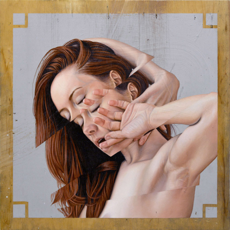 Fractured Paintings by James Bullough