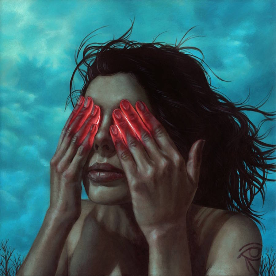Odd Dystopian Paintings by Casey Weldon (12 pics)