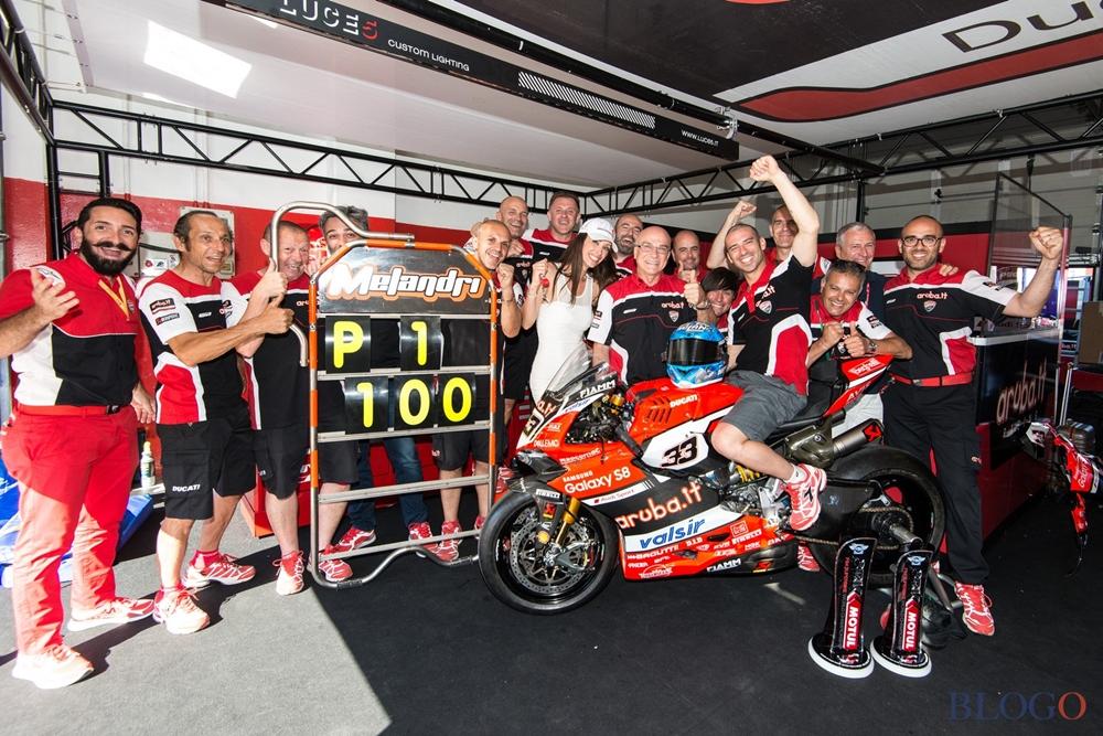 Мизано, этап 7 - фотографии Ducati