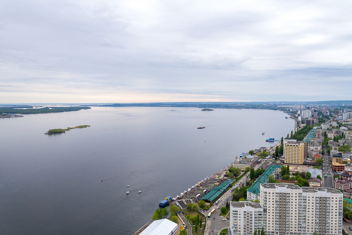 Вид на Саратов с Volga Sky фото 17
