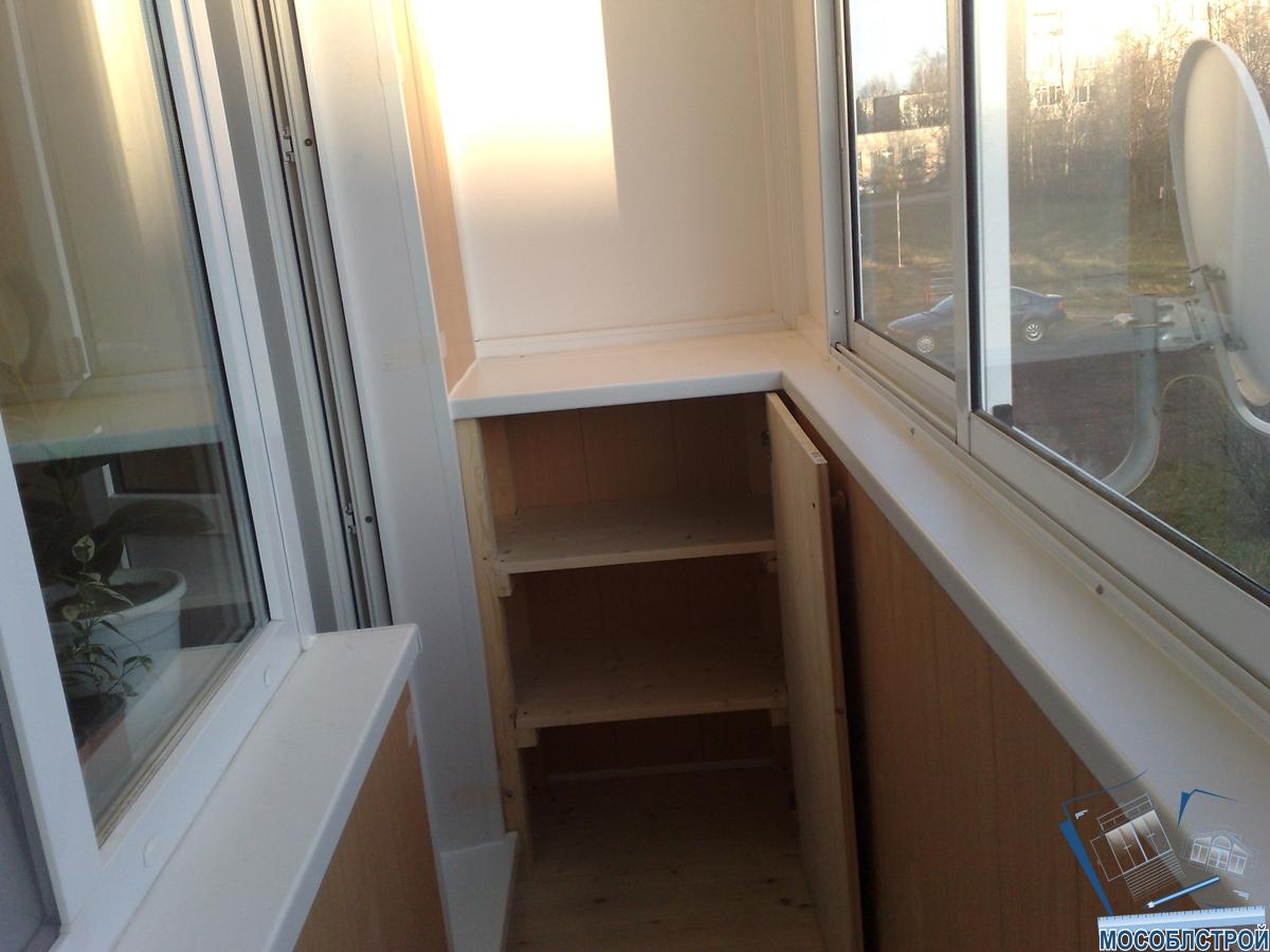 Пластиковая тумба с ящиками для балкона..
