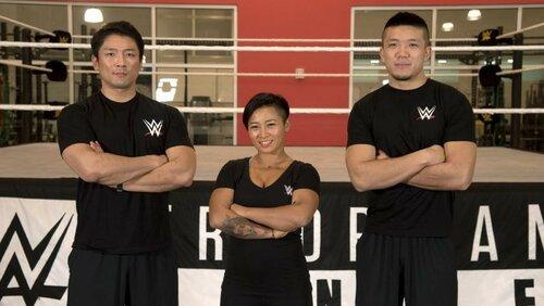 Post image of Три китайских студента в Подготовительном центре WWE
