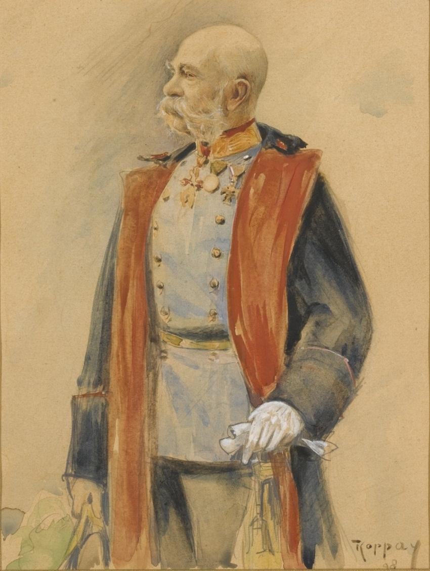 1859 ПОРТРЕТ кайзер Франц Иосиф I АВСТРИИ.jpg