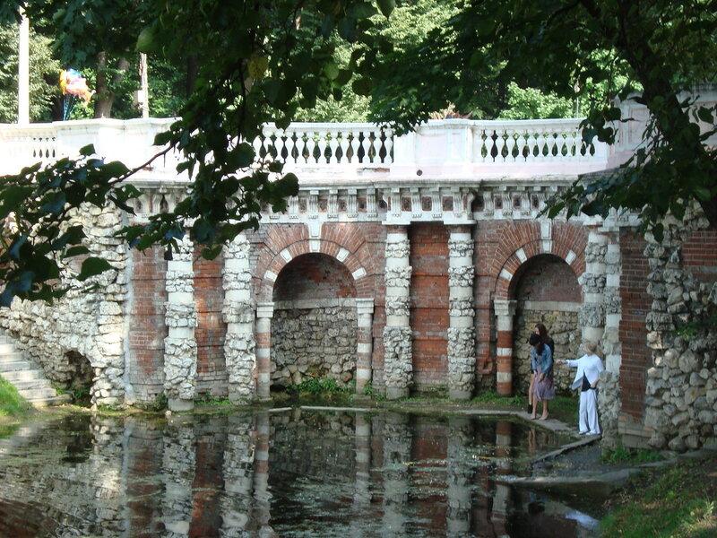 Лефортовский парк. Грот Растрелли (1)