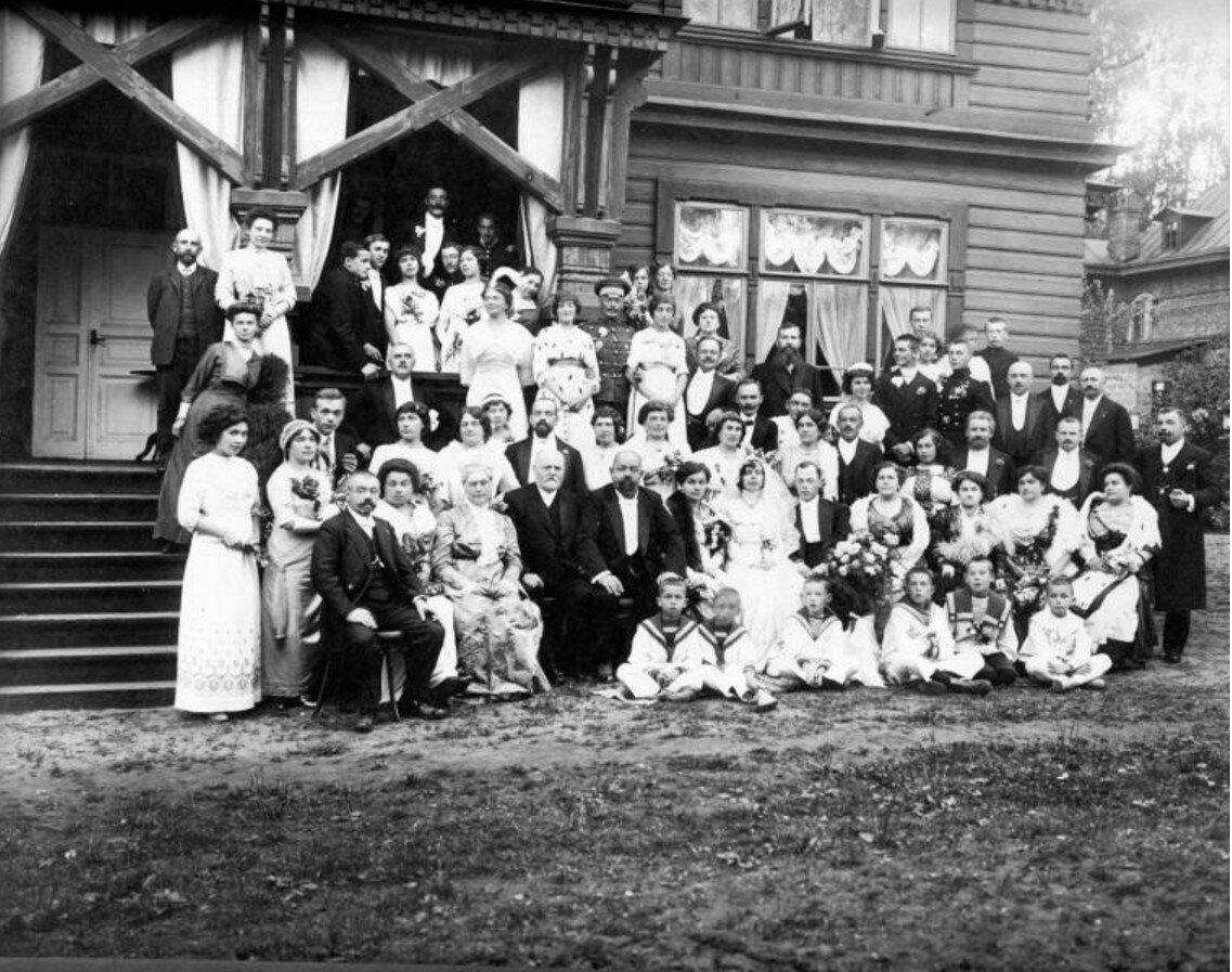 1900-е. Свадьба. Санкт-Петербург