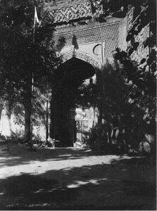 Узгент (Ферганская область).  Развалины старой мечети