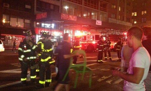Взрыв бомбы на Манхэттене объявлен терактом