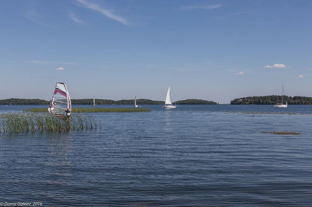 На озере 9 июля 2016 г