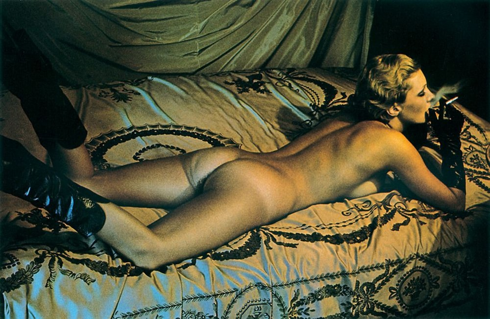 Хельмут Ньютон в цвете: «Порнографический шик»