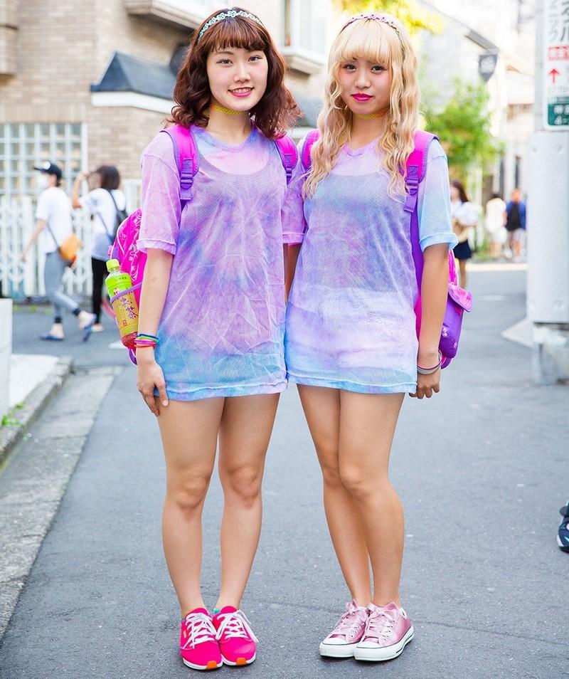 Модные персонажи на улицах Токио (01.09.16)