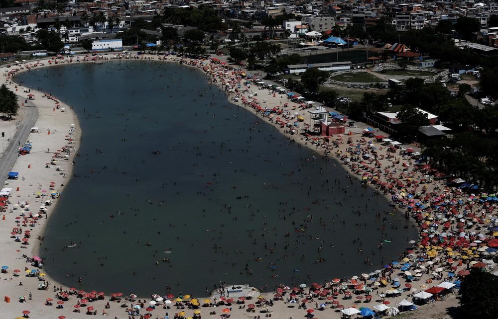 Любимое место отдыха жителей Рио