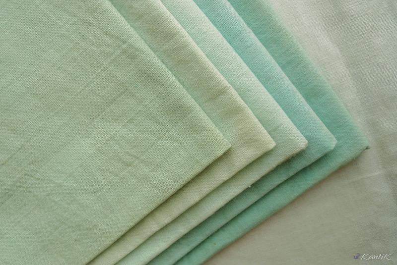 ткани винтаж однотонные ручного окраса для рукоделия шитья