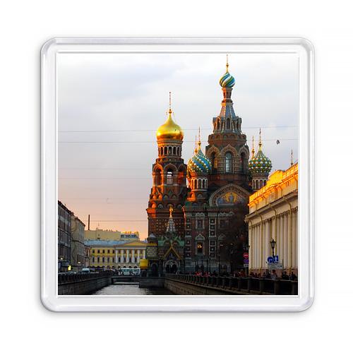 МАГНИТ АКРИЛОВЫЙ / СПАС НА КРОВИ (арт. 000398)