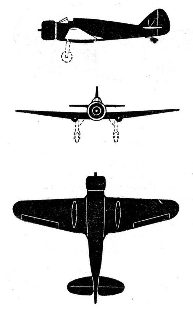 Силуэты итальянских самолетов (1939) 033